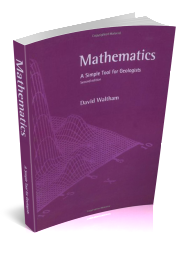 Mathematics Simple Tools For Geologists Cover