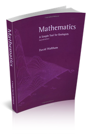 Mathematics: A Simple Tool For Geologists Cover